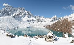Third Gokyo Lake (4750m) and Phari Lapche Mt (6017m)