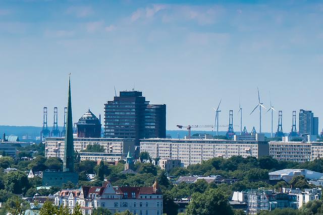 An Unusual View of Hamburg (215°)