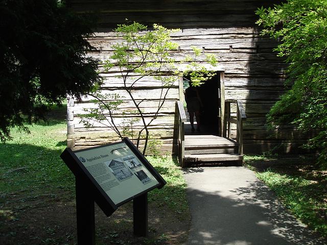 Maison ancienne des Appalaches