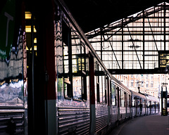 Gare au train