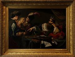 Crésus réclamant le tribut à un paysan de Lydie.