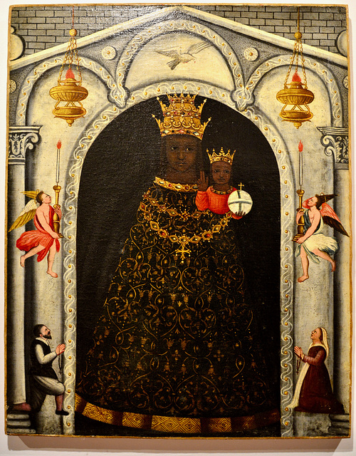 Urbino 2017 – Oratorio di San Giovanni Battista – Black Madonna of Loreto