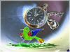 #20 ... der grüne Vogel