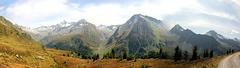 Panoramablick Ahrntal