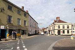 Junction of Market Place, Broad Street and Earsham Street, Bungay, Suffolk