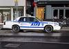 New York Police Car in Glasgow
