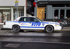 New York Police Car in Glasgow