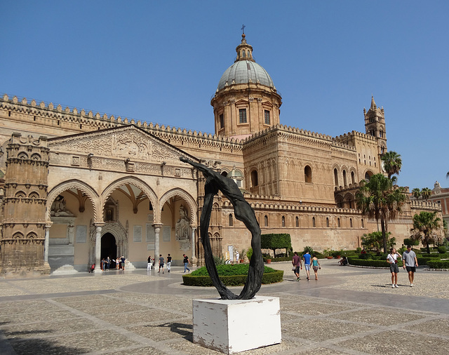 The magnificent Cathedral of Palermo, Sicily.