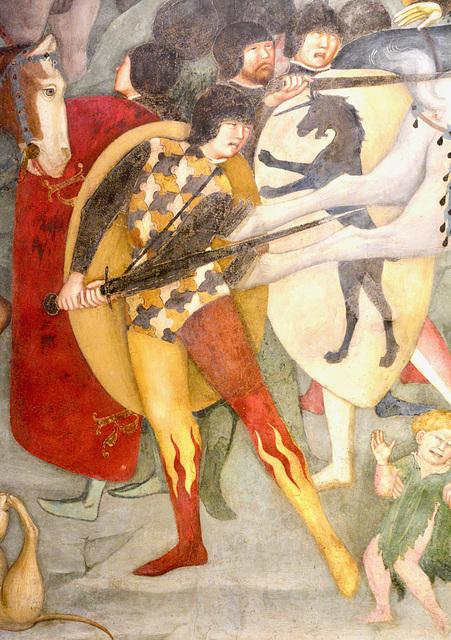 Urbino 2017 – Oratorio di San Giovanni Battista – Fire pants