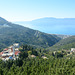 Albania, Vlorë, View to the South from the Castle of Kaninë