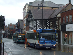DSCF9603 Stagecoach in Chester PX06 DVU) and Arriva Cymru CX56 CFA