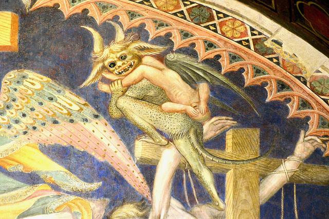 Urbino 2017 – Oratorio di San Giovanni Battista – Devil