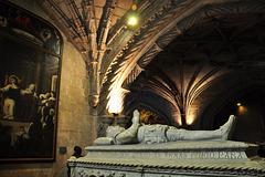 Grab von Luís de Camões in der Kirche Santa Maria / Mosteiro dos Jerónimos / Hieronymus-Kloster - Belem (© Buelipix)