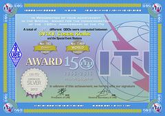 URE  ITU-150 Silver