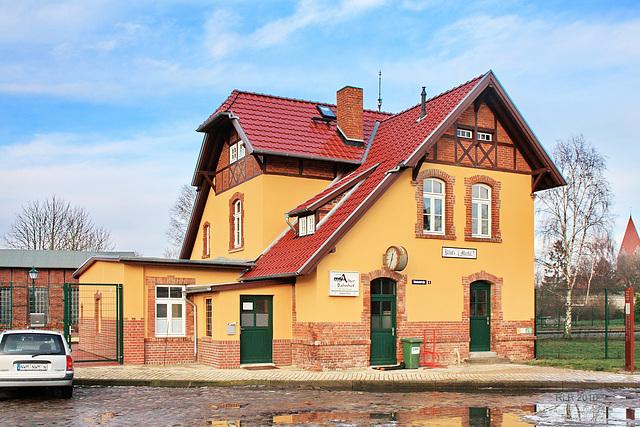 Klütz, Bahnhofsgebäude