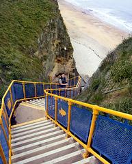 Marsden Grotto staircase: HFF