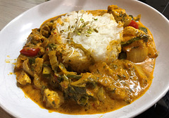 Curry-Hühnchen