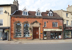 Former Bank, No.8 Market Place, Bungay, Suffolk