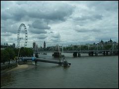 Big Ben from Waterloo Bridge