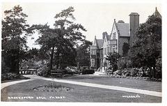 Brocksford Hall, Derbyshire c1910