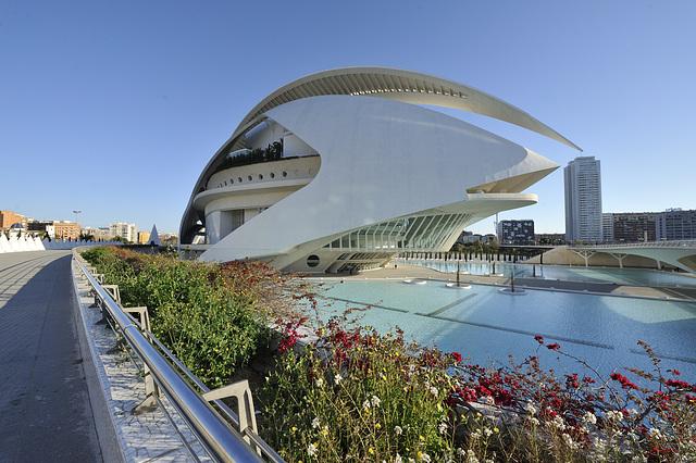 HFF from Palau de les Arts Reina Sofia ~ Valencia