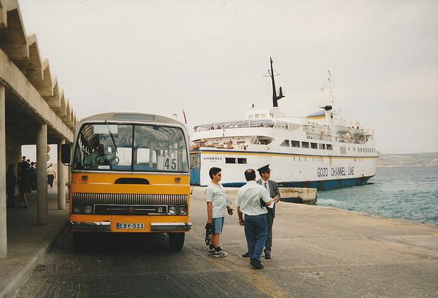 Malta (Cirkewwa) May 14 1998 EBY-511 Photo 394-25