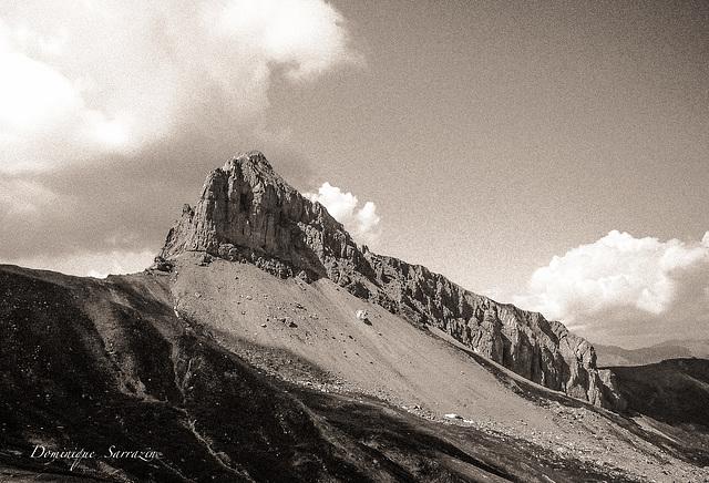 La grande Séolane - Alpes de Haute Provence