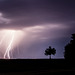 France - Saint-Léonard-en-Beauce - Lightning storm