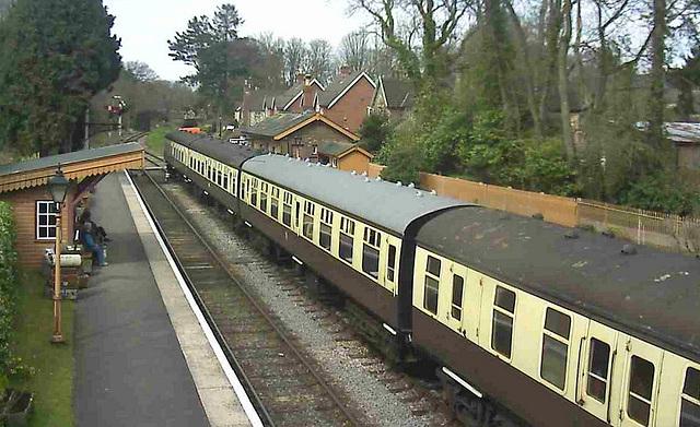Webcam: Crowcombe Heathfield Station