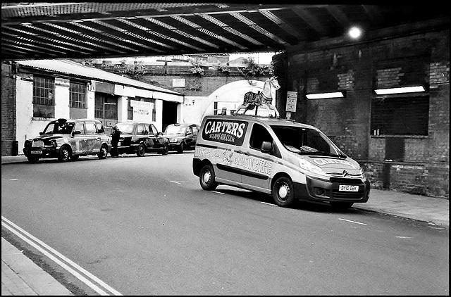 Padfield Road, London SE5.