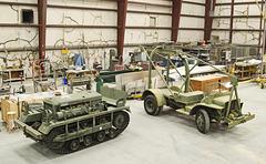 "M2 ""Cletrac"" and Ford GTB ""Burma Jeep"" Bomb Service Truck"
