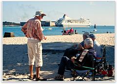 les anciens refont le monde en rêvant de voyages