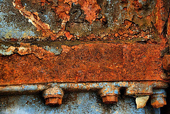 Old Rusted Boats Engine