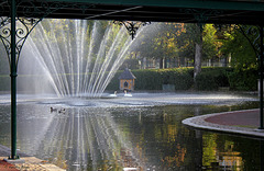 Grand bassin du jardin Lecoq