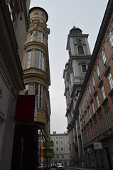 Linz, Domgasse and Alter Dom
