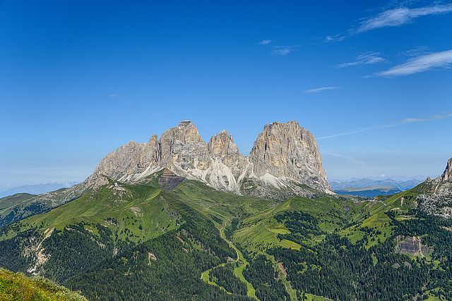 Sassolungo Sassopiatto - Dolomiti