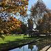 Melbourne Uni campus in autumnal glory
