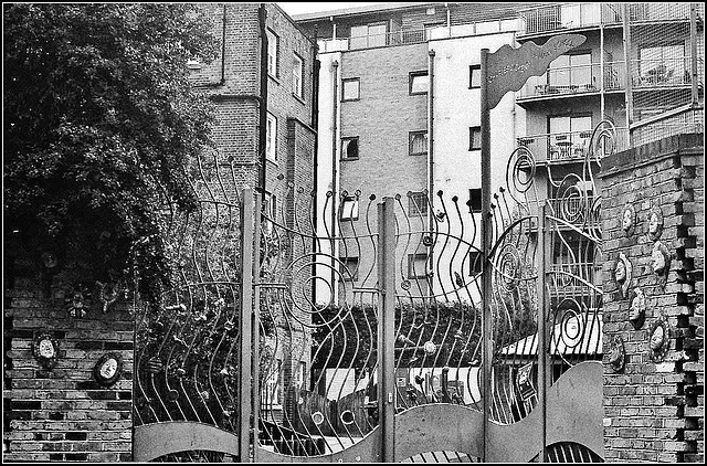 Gates, Charles Dickens Primary School SE1.