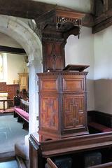 pyrford church, surrey