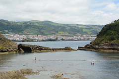 Azores, Path into the Flooded Crater of the Islet of Vila Franca do Campo