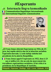 #Esperanto Franz Jonas EO-FR