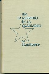 Faulhaber, Gramatiko, 5a eld. 1950