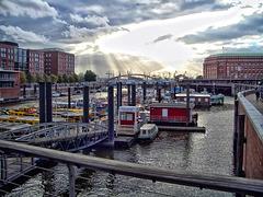 Binnenhafen Hamburg (270°)