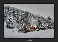 Winter in Parnassos ...