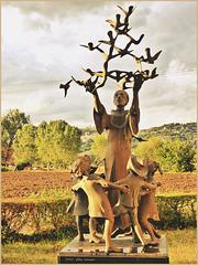 Statue des Hl. Franz v. Assisi