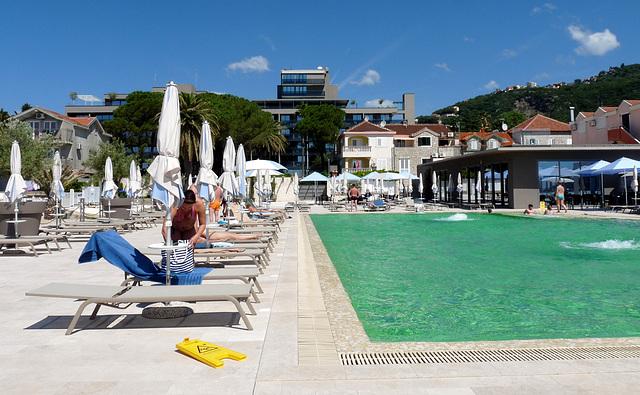 Igalo- Palmon Bay Hotel Swimming Pool