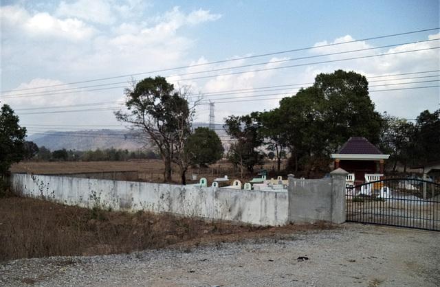 Ambiance funéraire du Laos