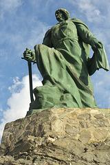 Monument to Abederrahman at Almuñécar
