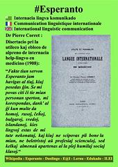 #Esperanto Pierre Corret EO