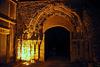 Portail de l'abbaye Notre-Dame d'Ivry-la-Bataille